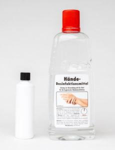 Händedesinfektionsmittel bei Koranis Purchasing Solutions